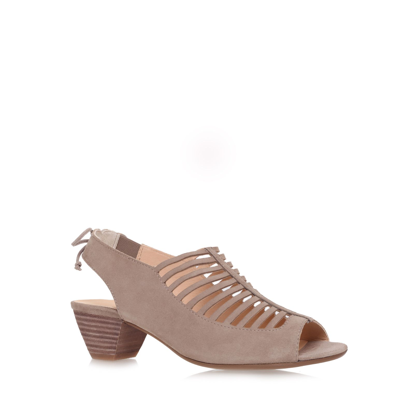 Camilla low heeled slip ons