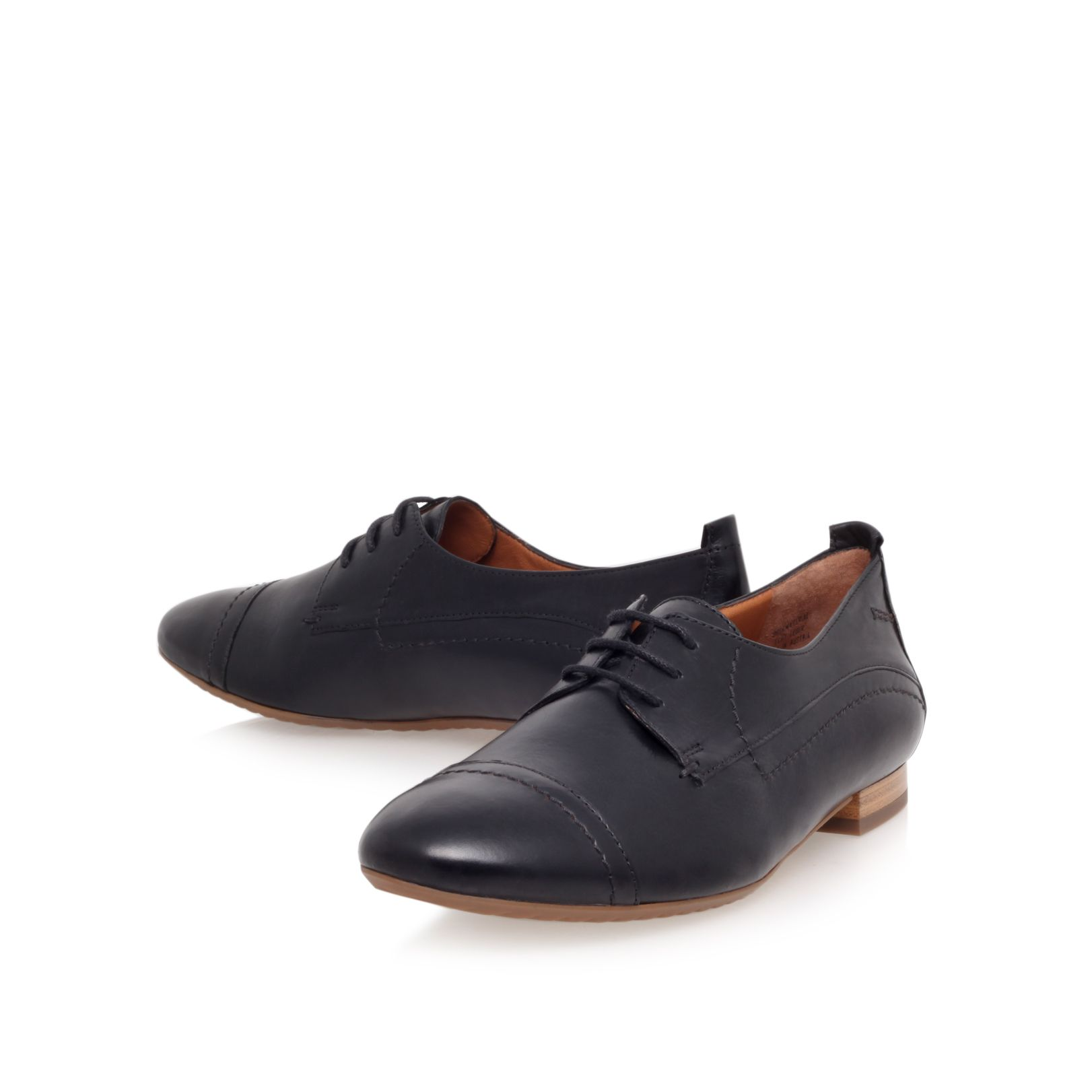 Charley flat lace up shoes