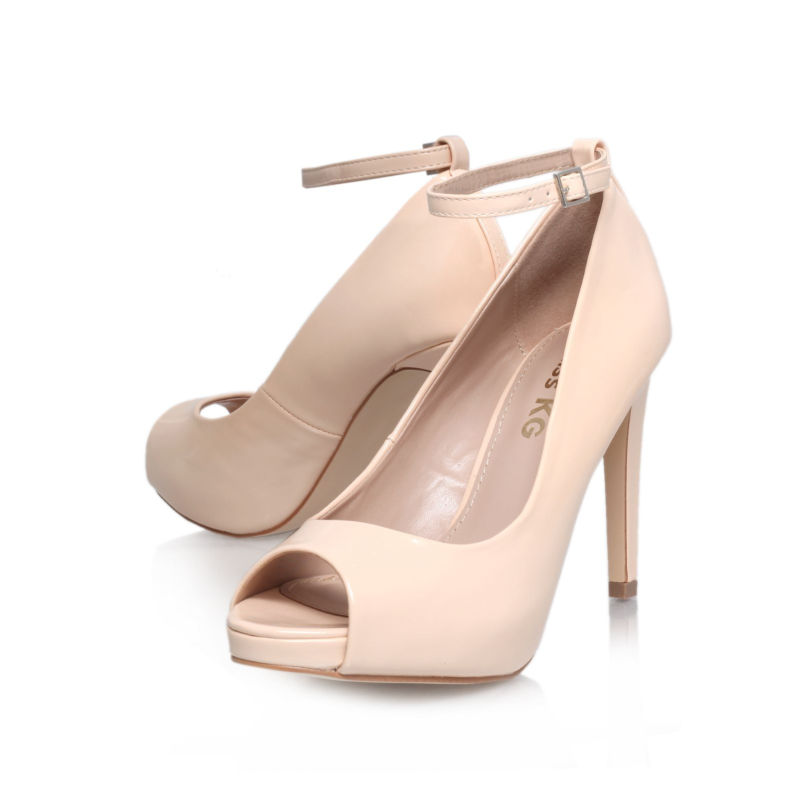 Anika high heel court shoes
