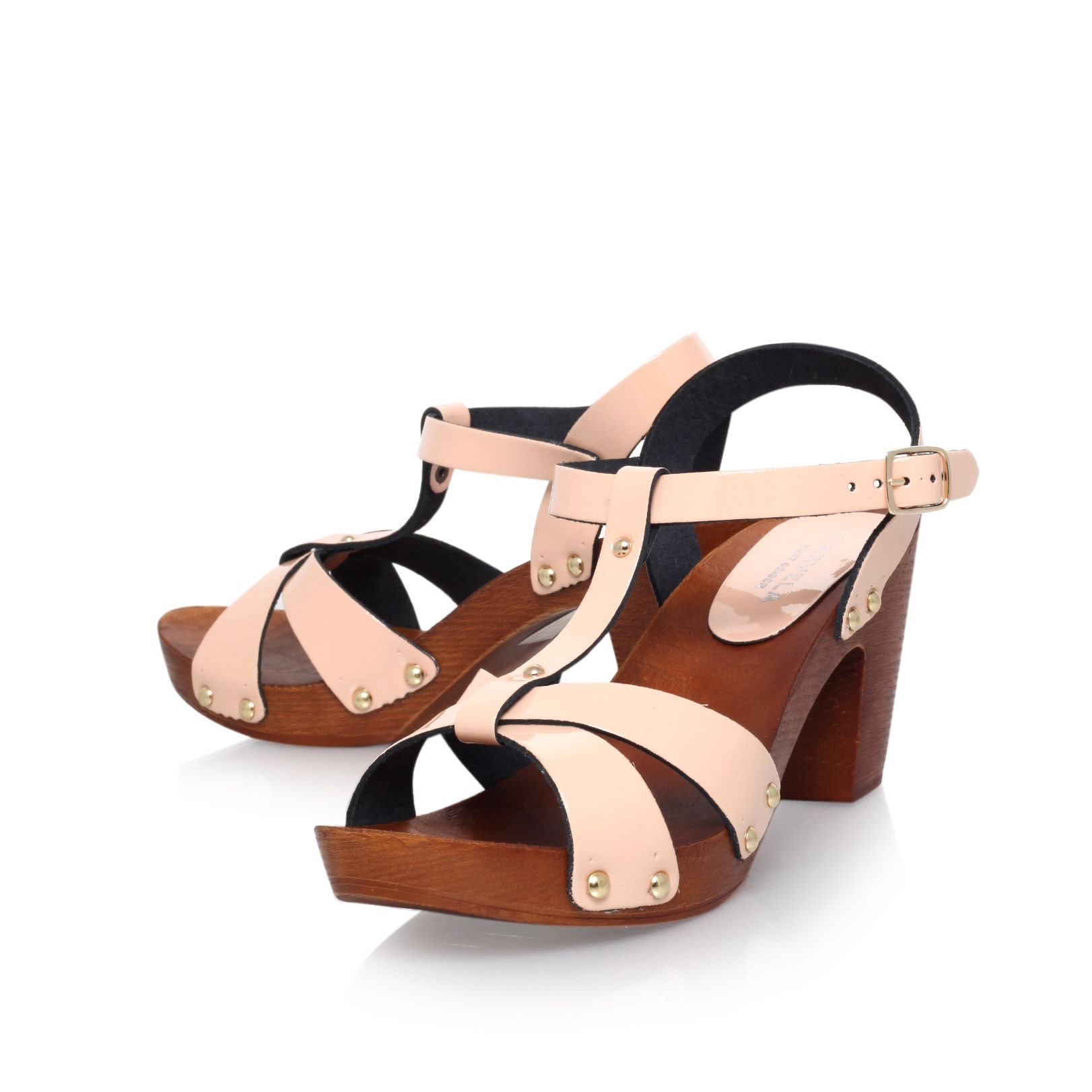 Sandra high heel platform sandals