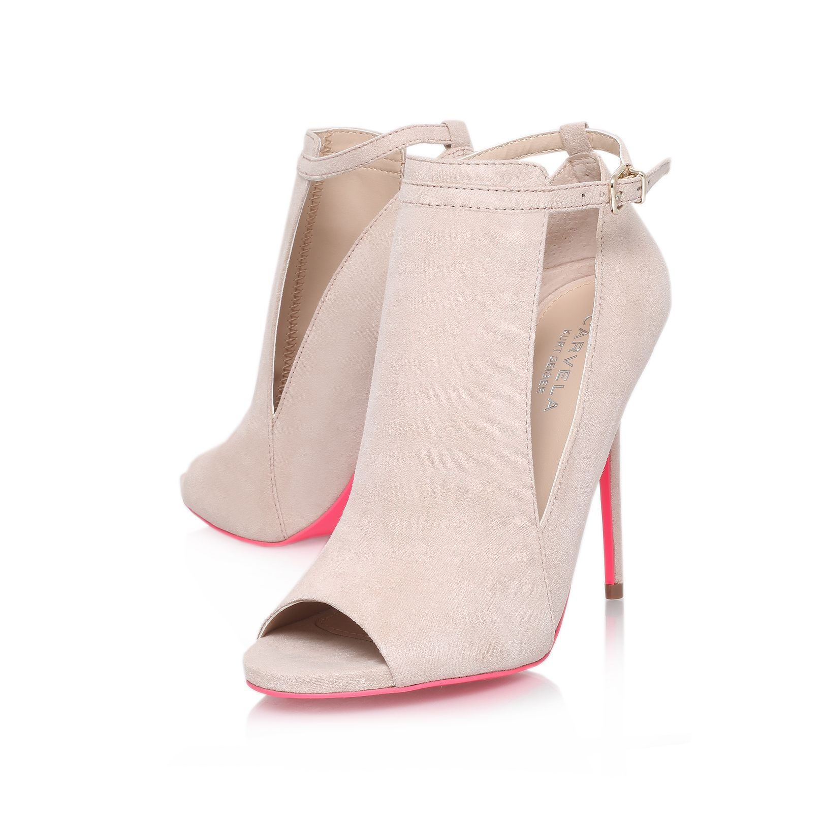 Glance high heel court shoes