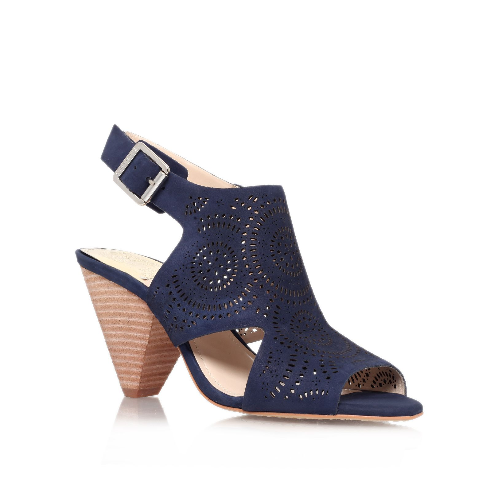 Ellezi mid heeled court shoes