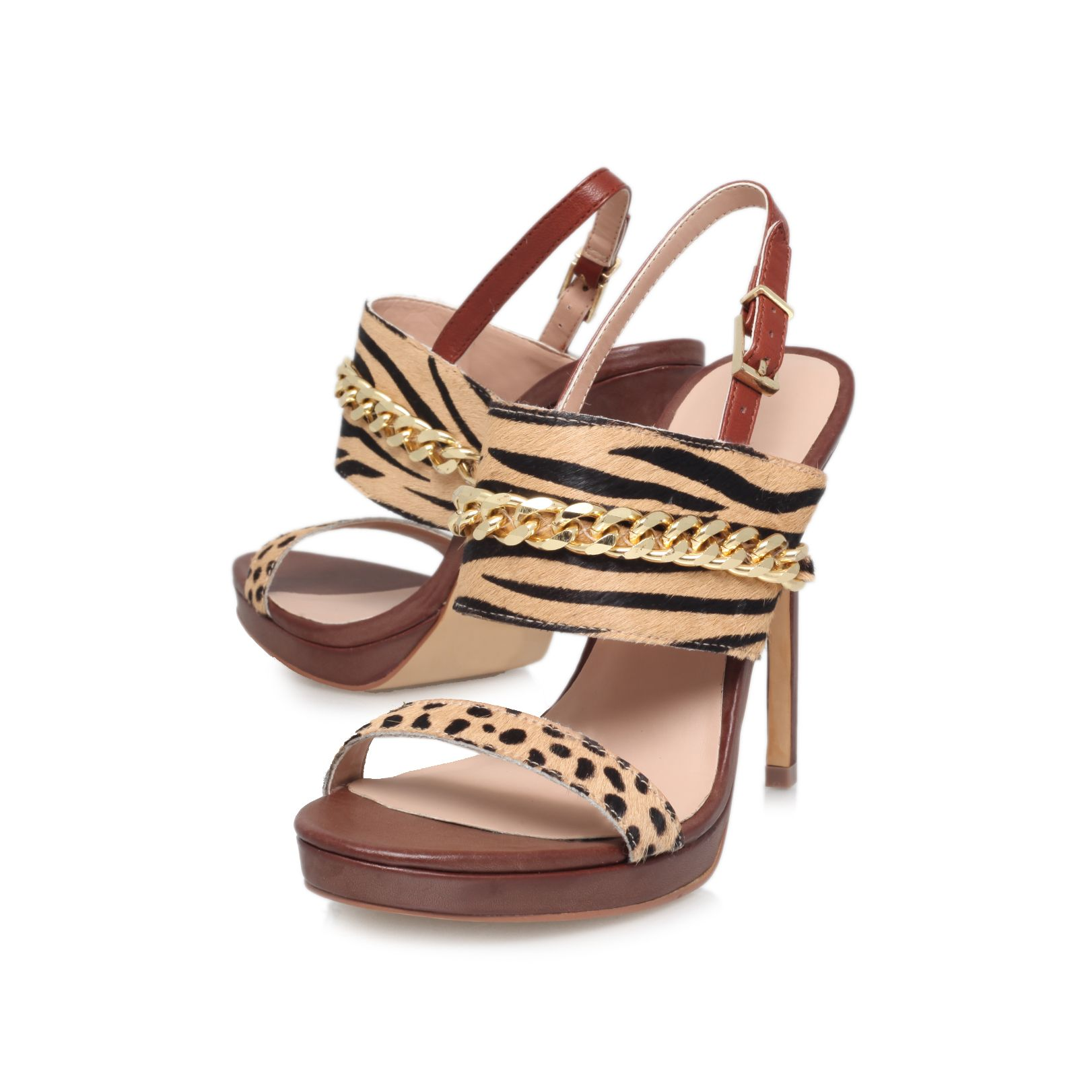 Hectic high heel sandals