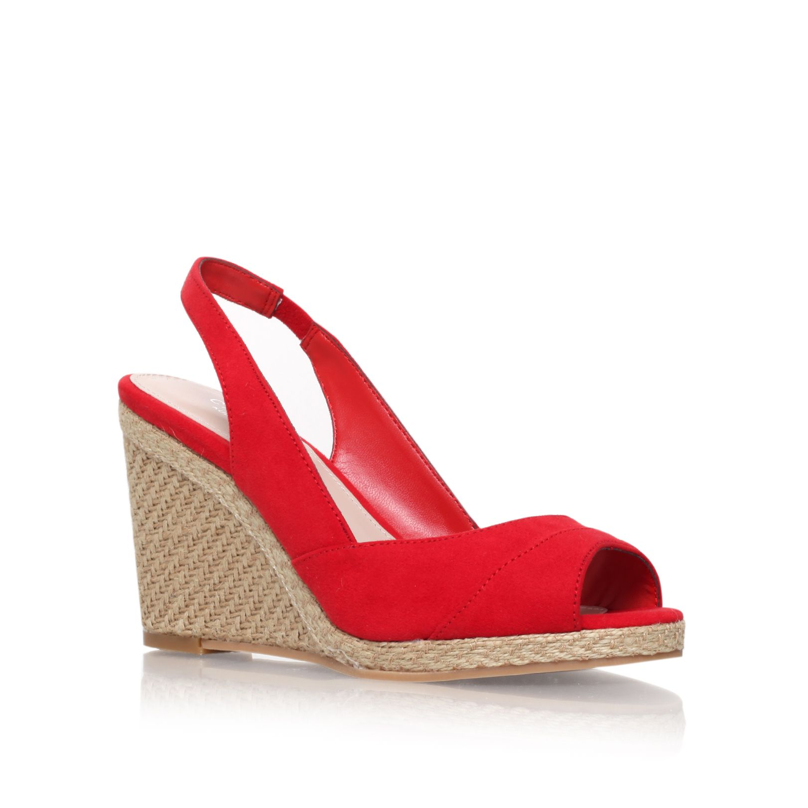 Susan high heel espadrille wedge sandals