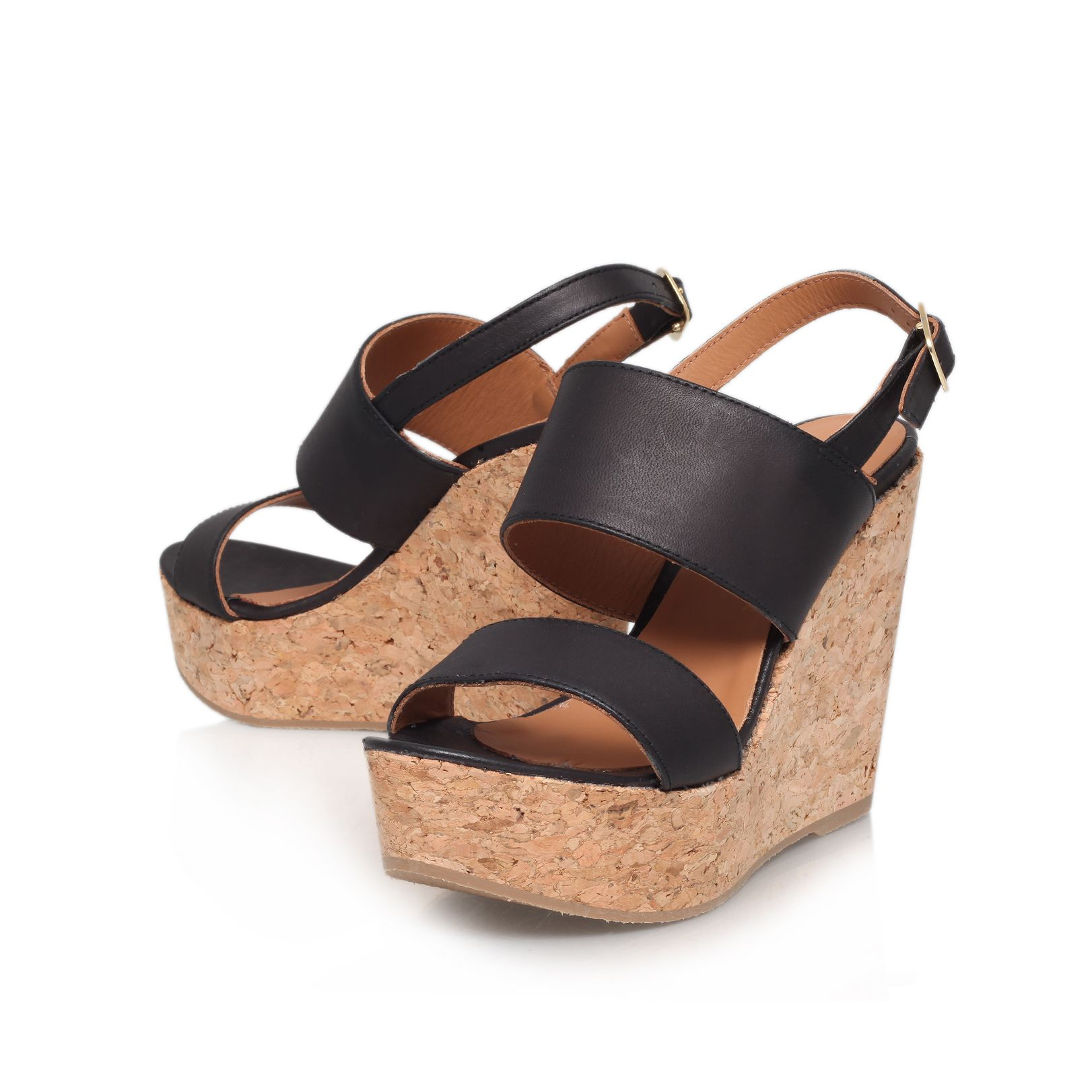 Gardenia high heel wedges