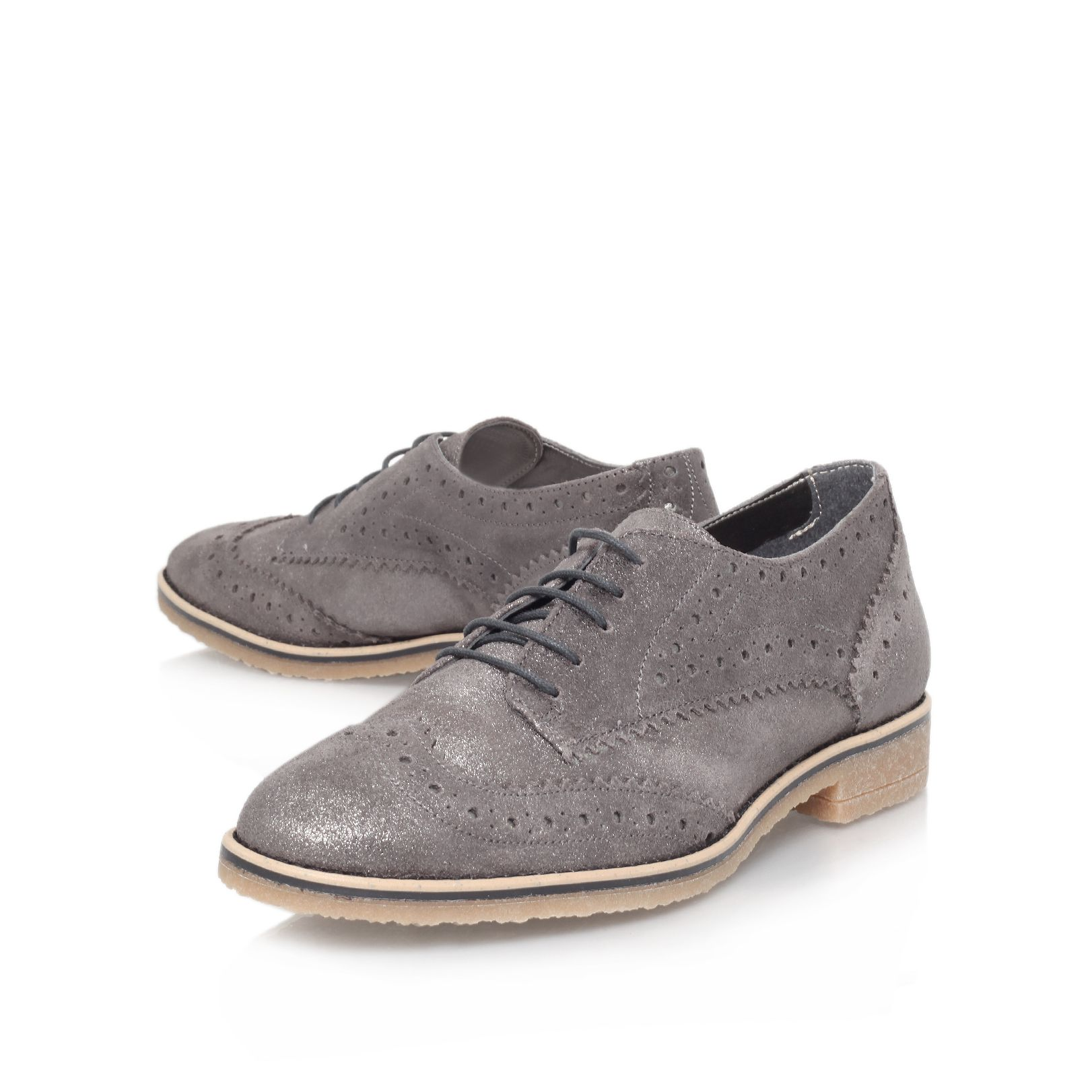 Loot flat brogue shoes