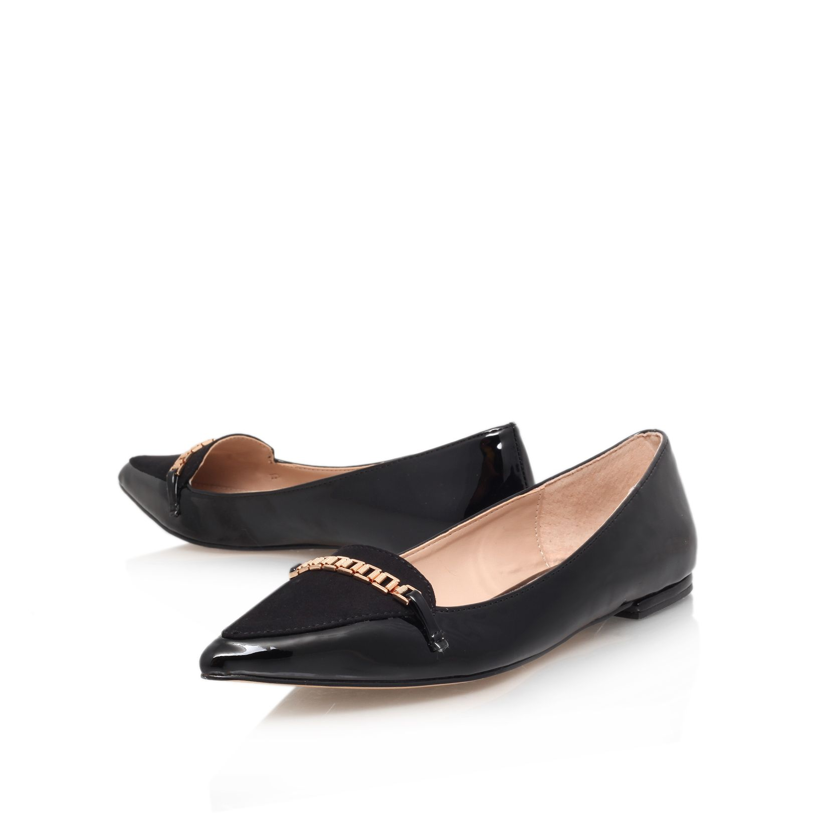 Lola flat court shoes