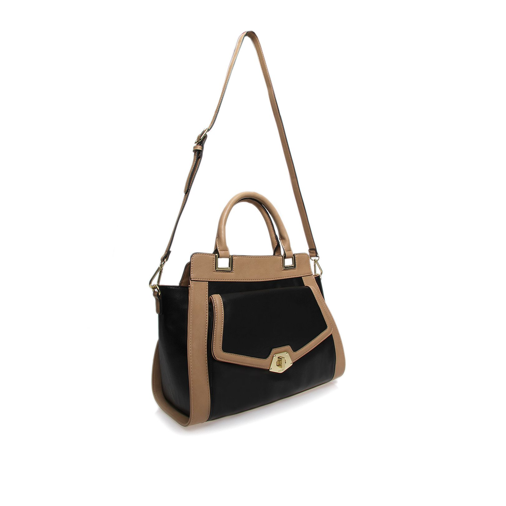Sadie black satchel