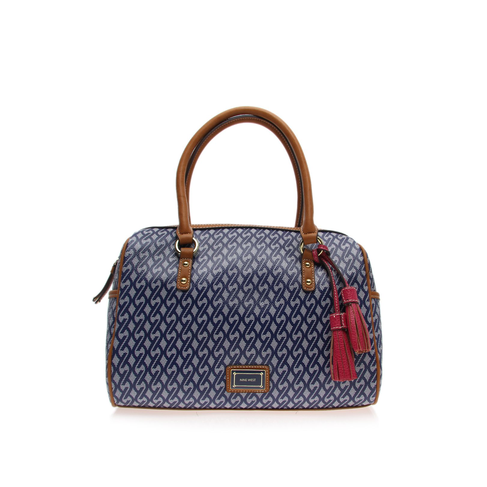 Showstopper blue tote bag