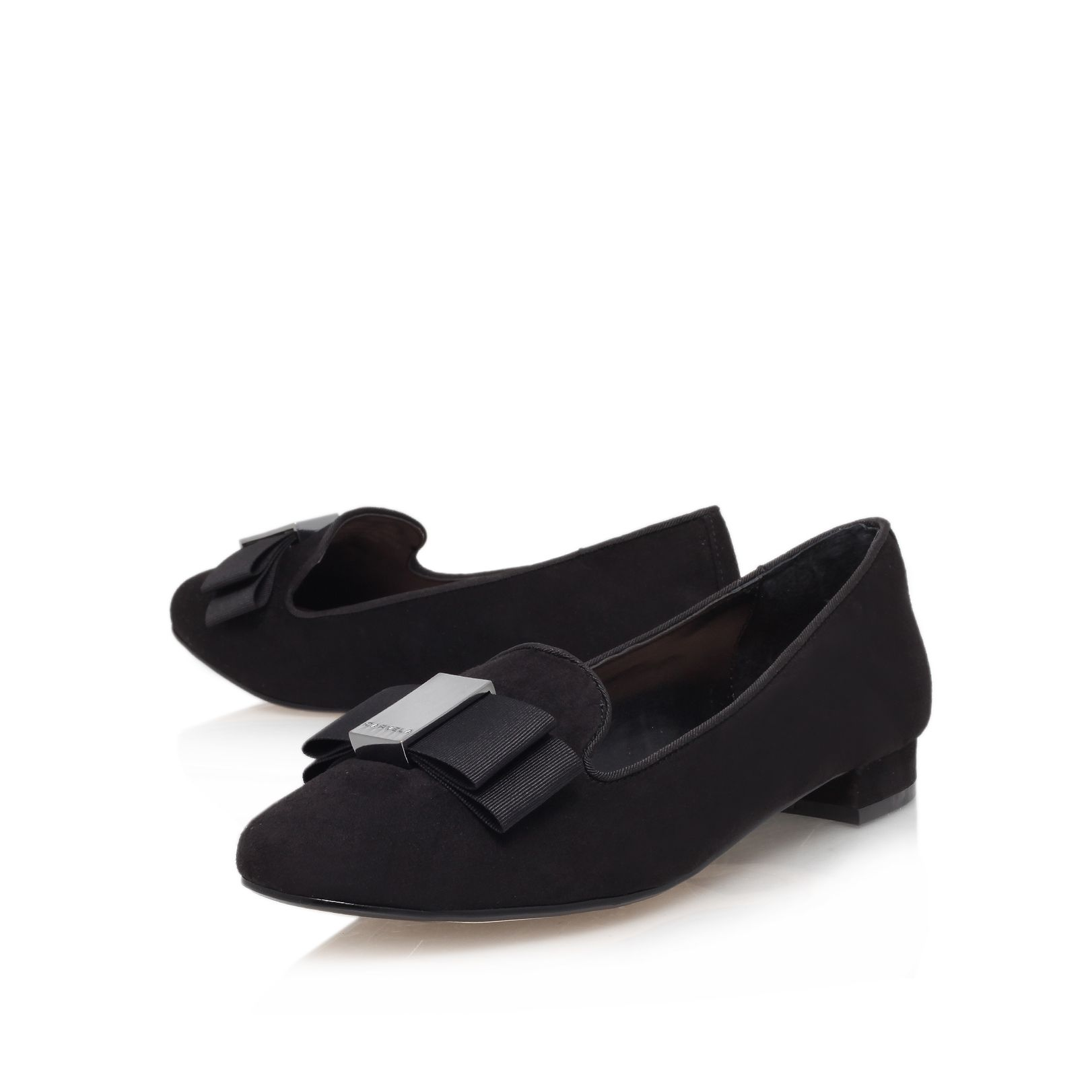 Lacey flat court shoes
