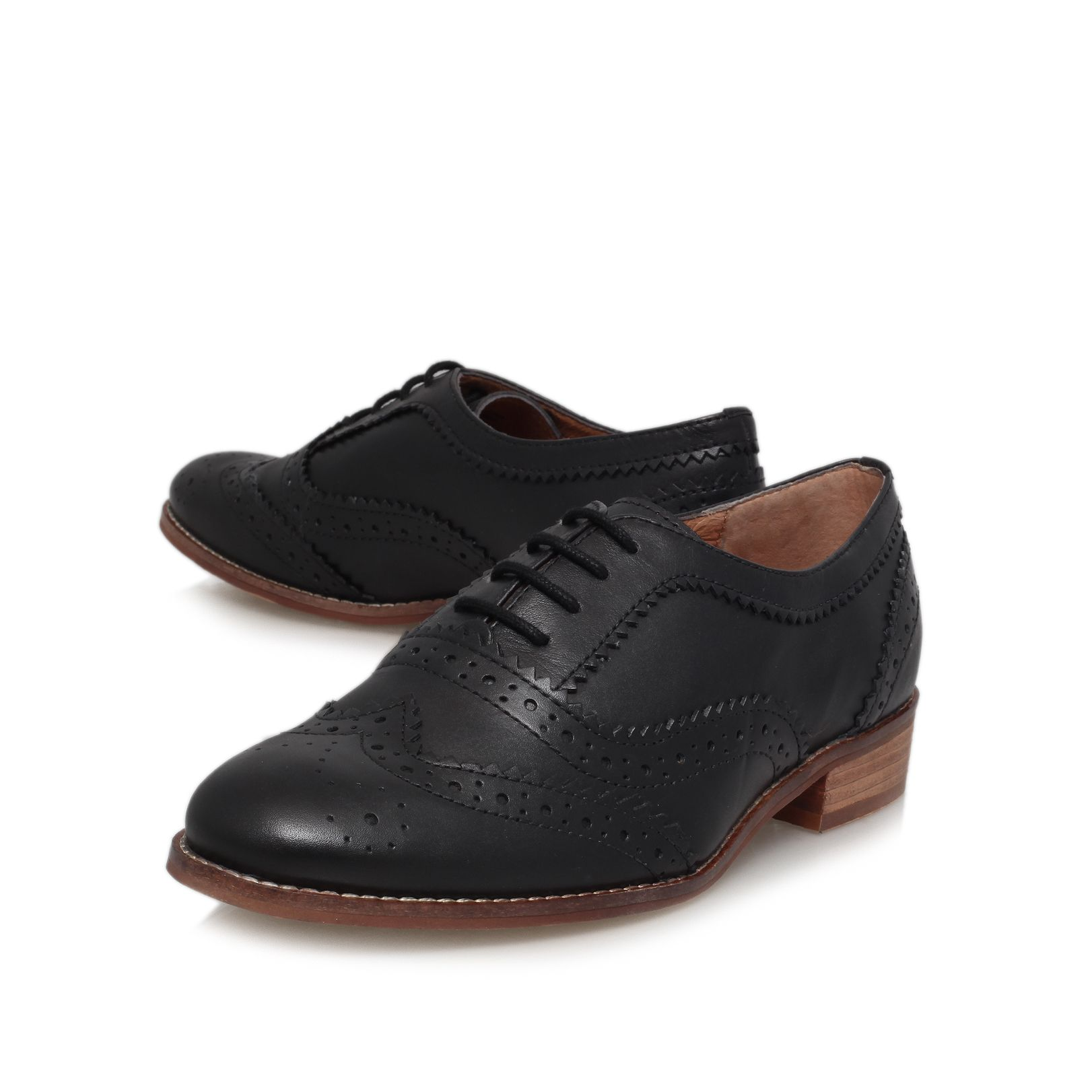 Lily low heel brogues
