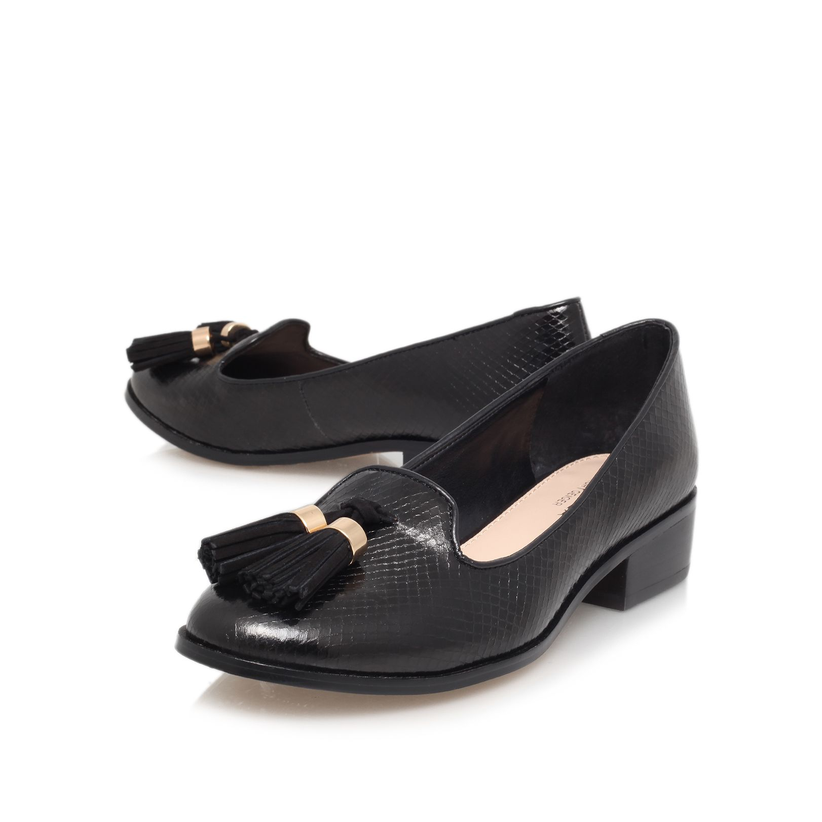 Laura low heeled slip ons