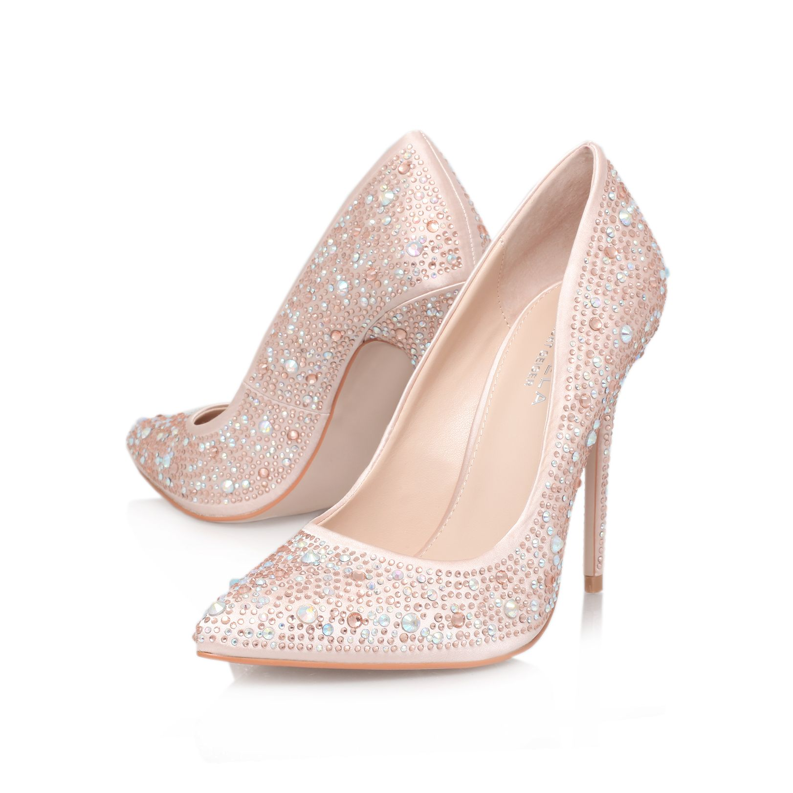 Gemini high heel court shoes