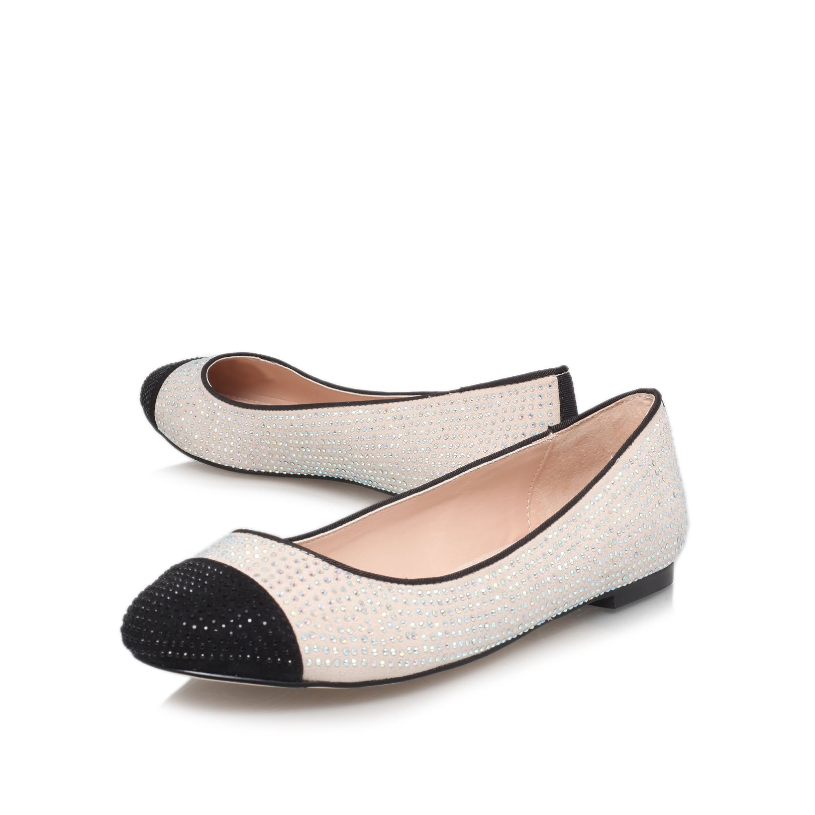 Lily flat court shoes
