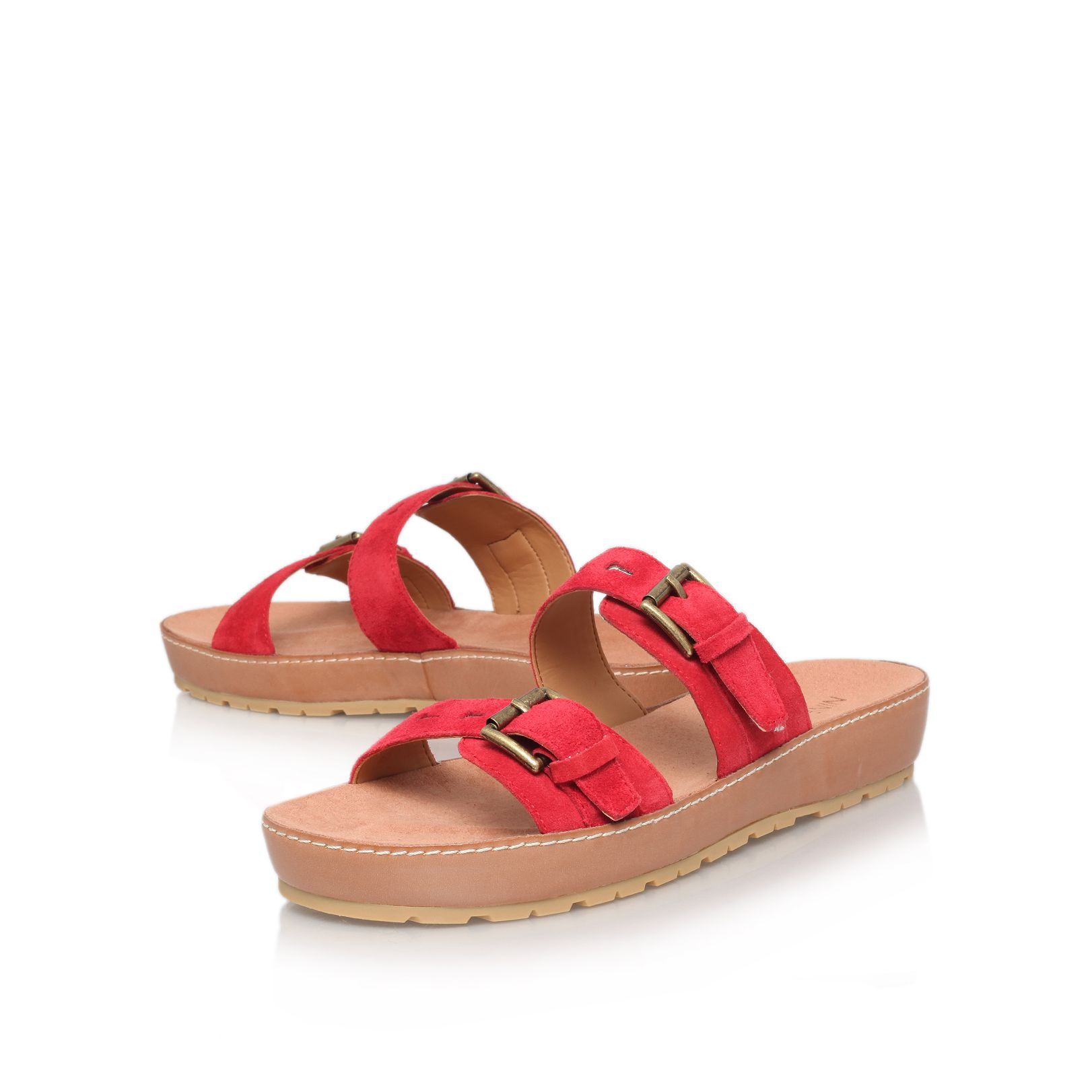 Ticktock flat sandals