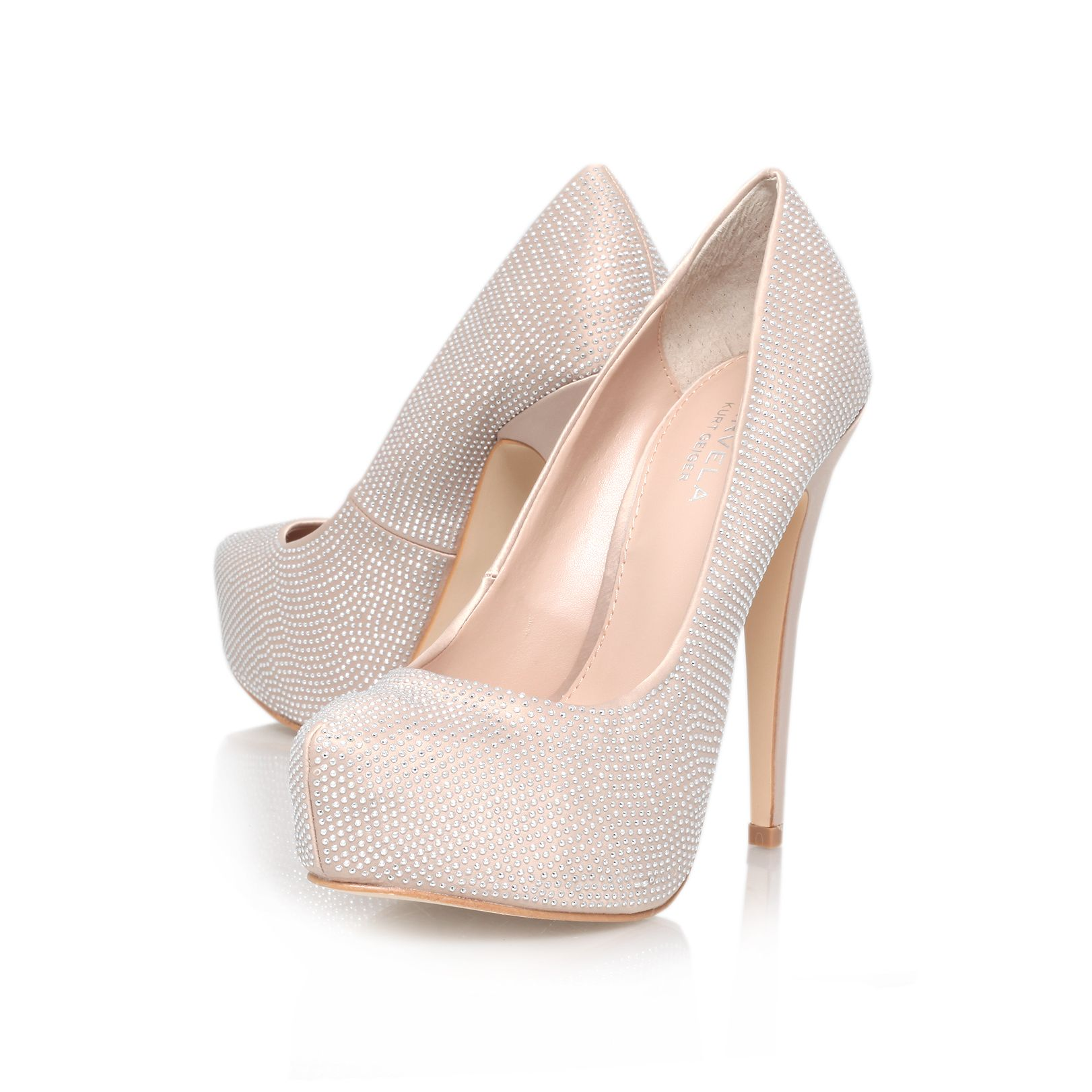 Karina high heel court shoes