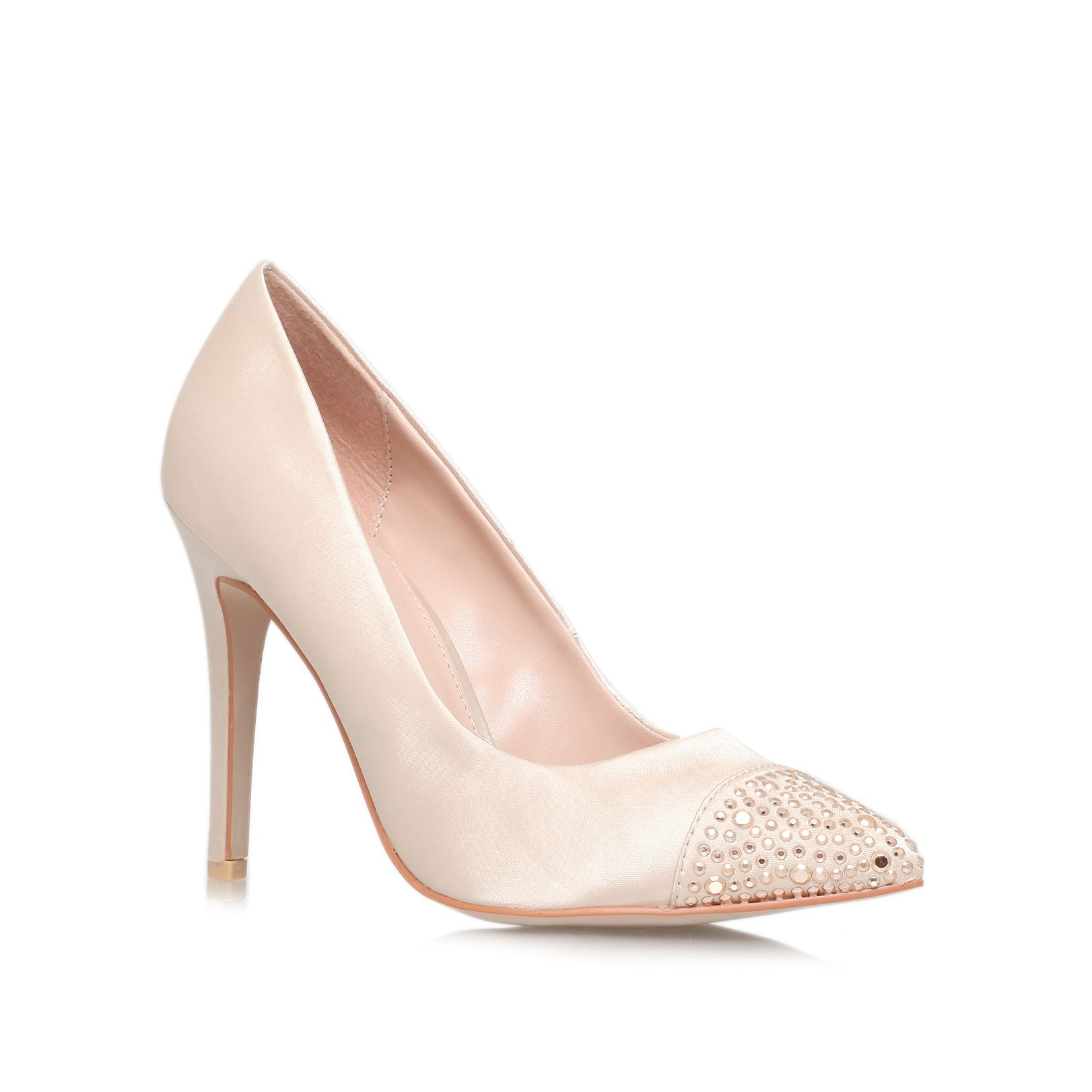 Lacey high heeled court shoes