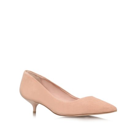 Carvela App low heeled court shoes