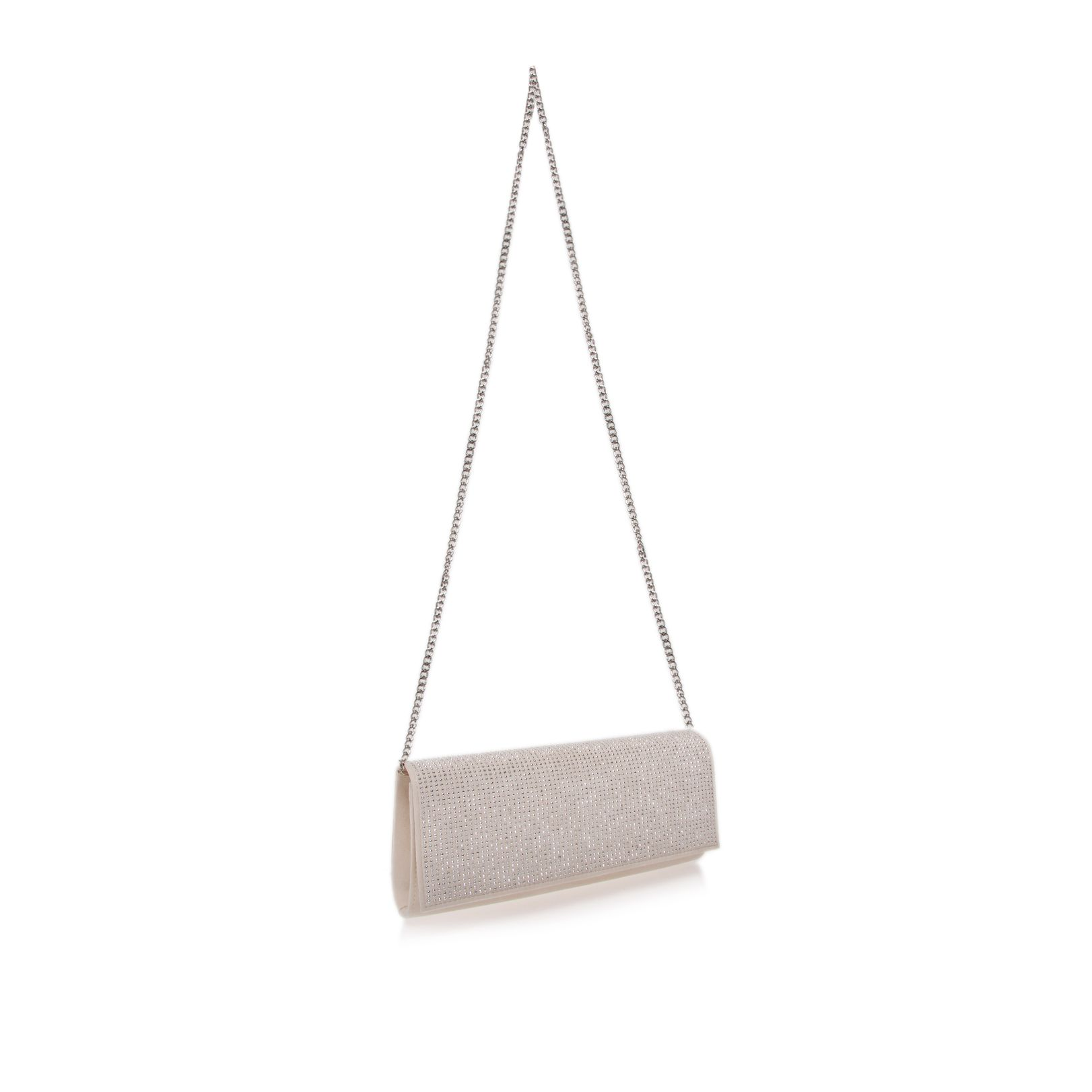 Tatiana nude clutch bag