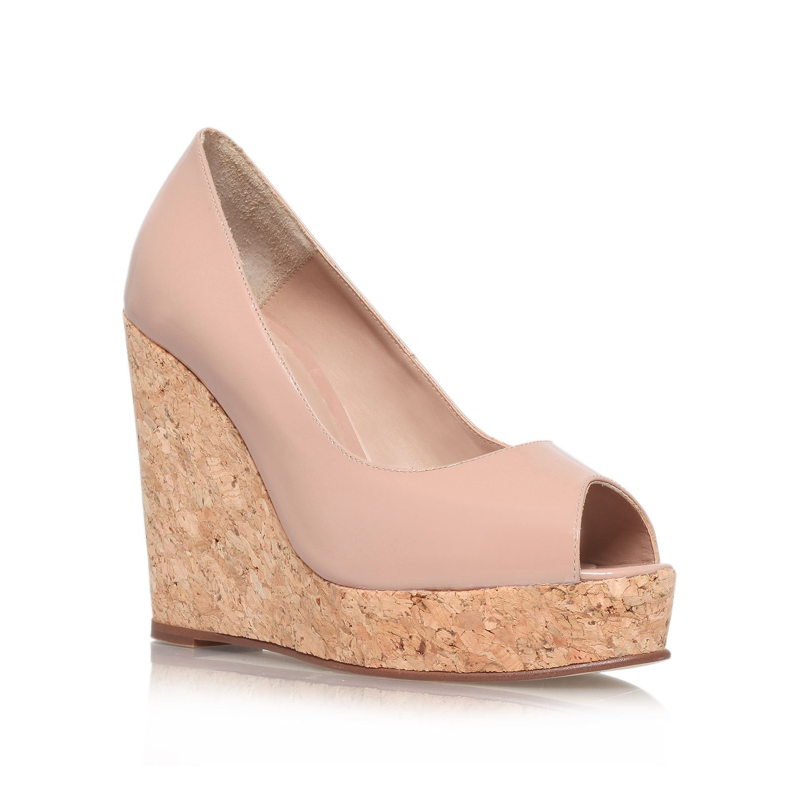 Capella high heel wedge sandals