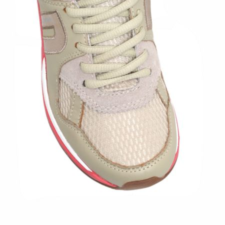 Jaclyn leather trainers