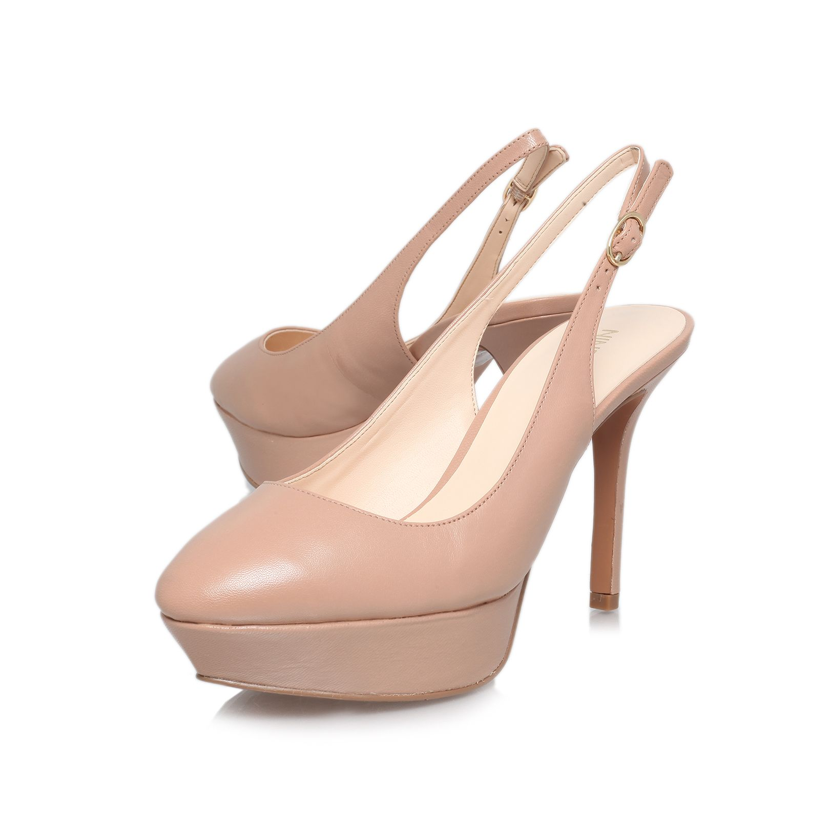 Cozelle high heeled court shoes