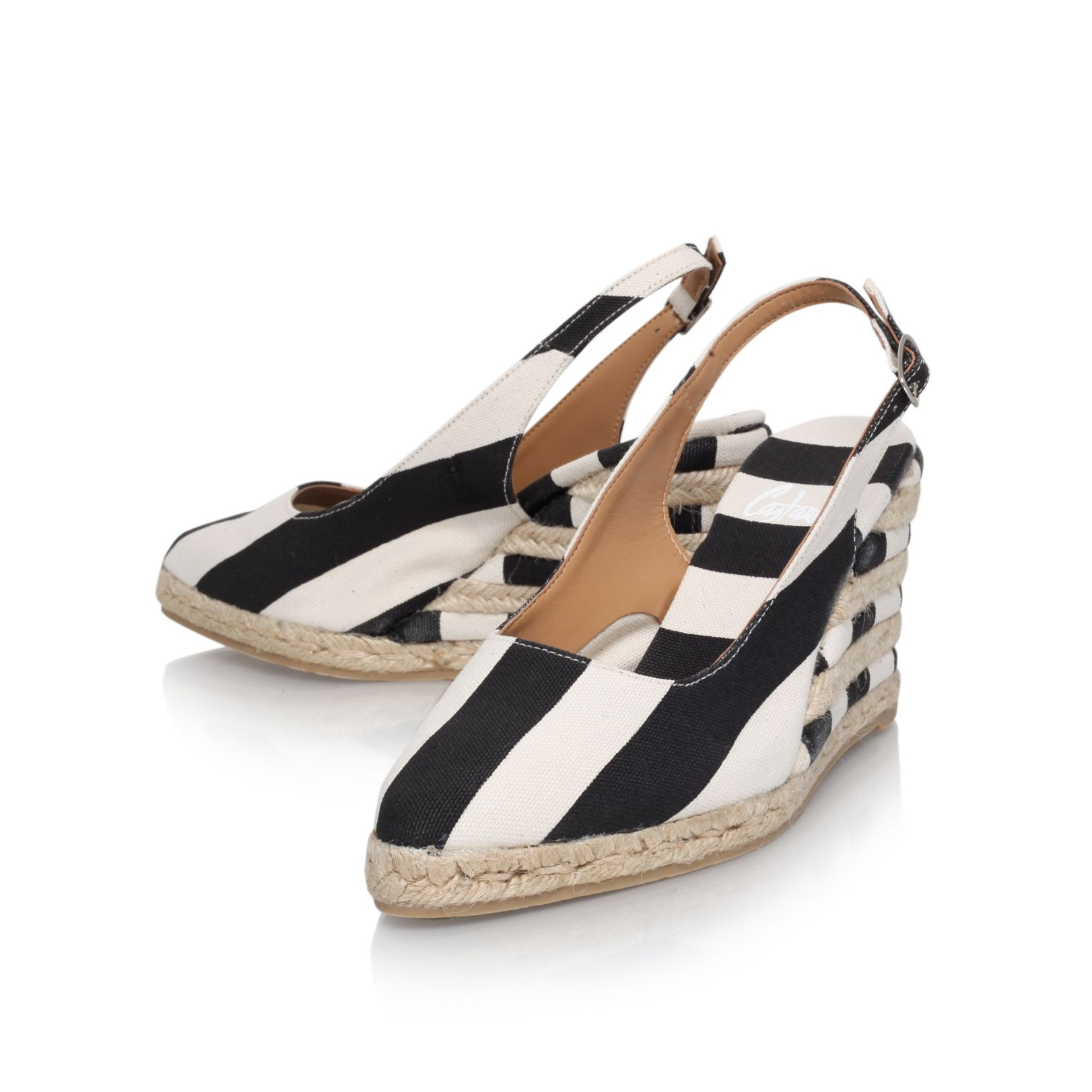 Jana h8 mid heel wedge sandals