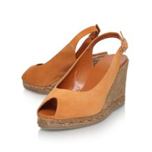 Beli mid heel wedge sandals
