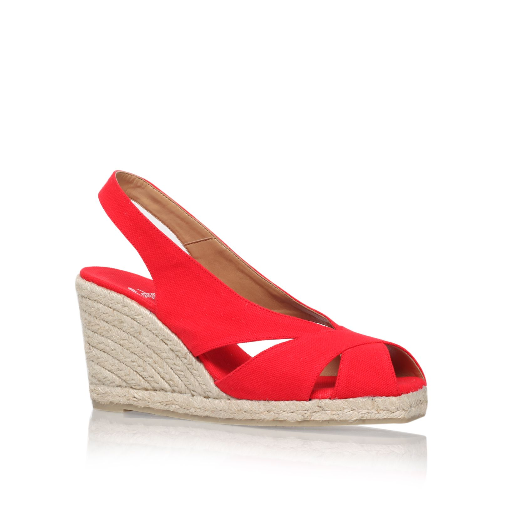 Dunia8 mid heel wedge sandals