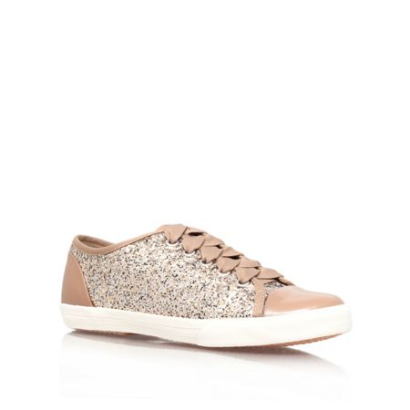 Carvela Jasper flat lace up trainers