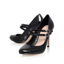 Kelly Double Strap Court Shoe