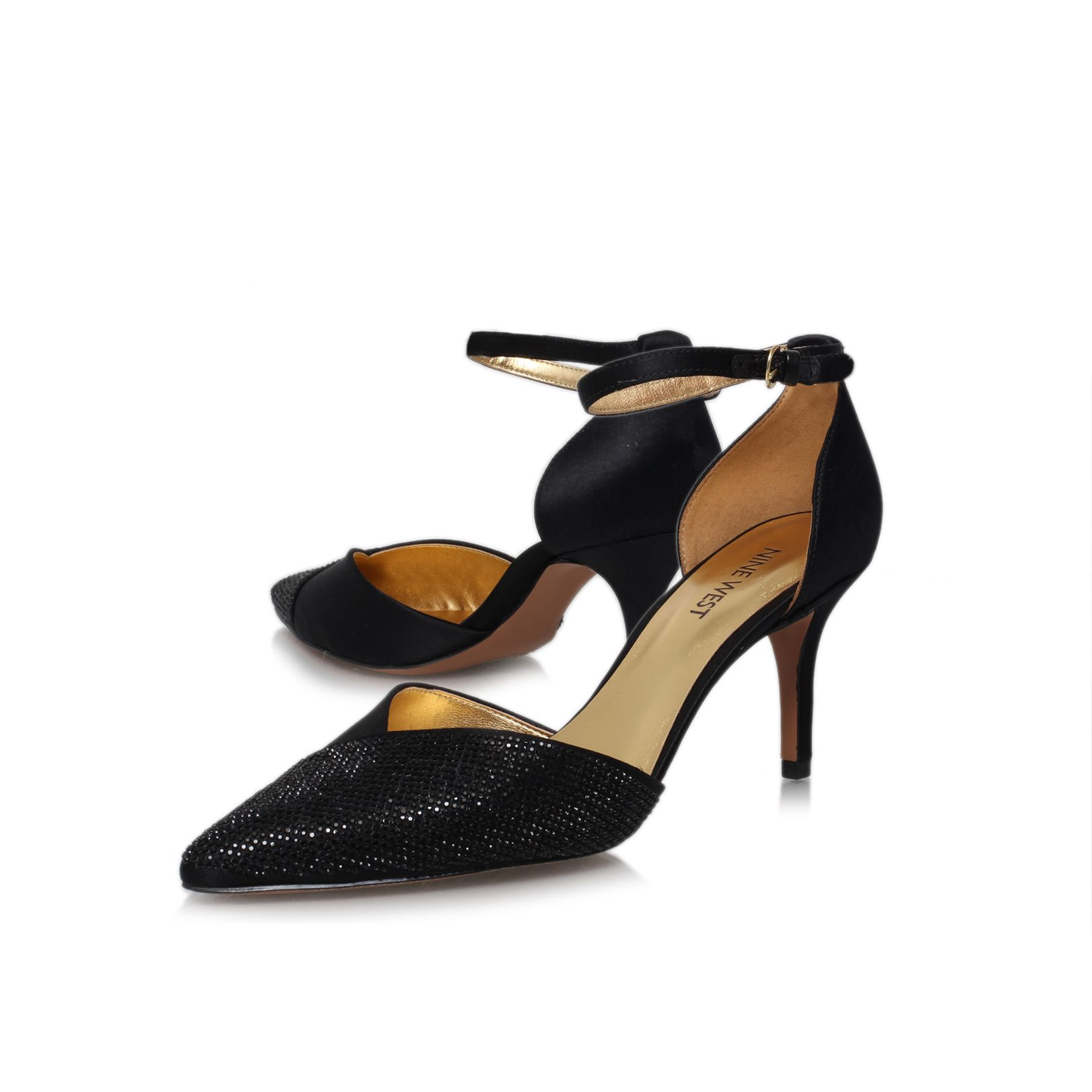 Knowledge2 low heeled court shoes