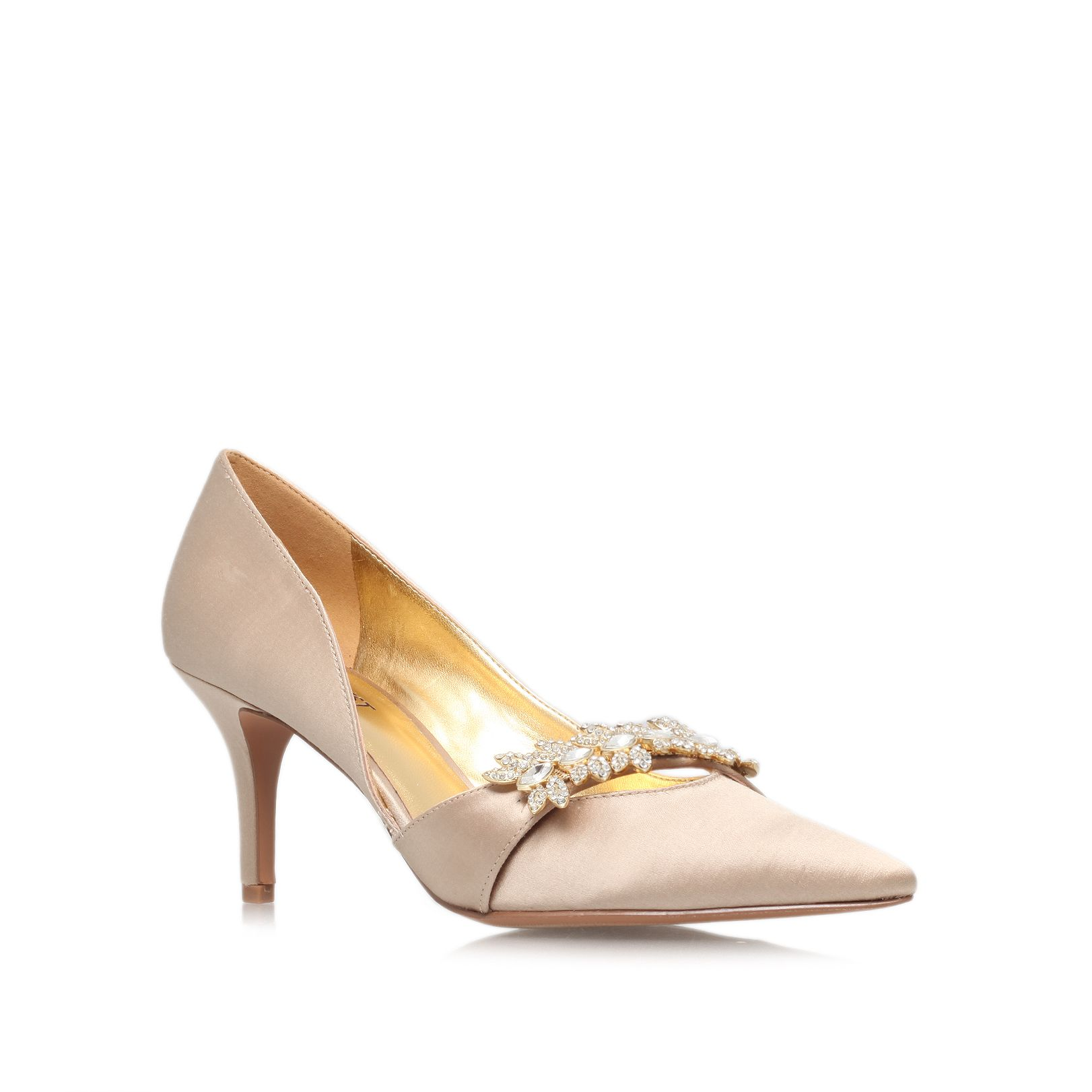 Krista2 low heeled court shoes
