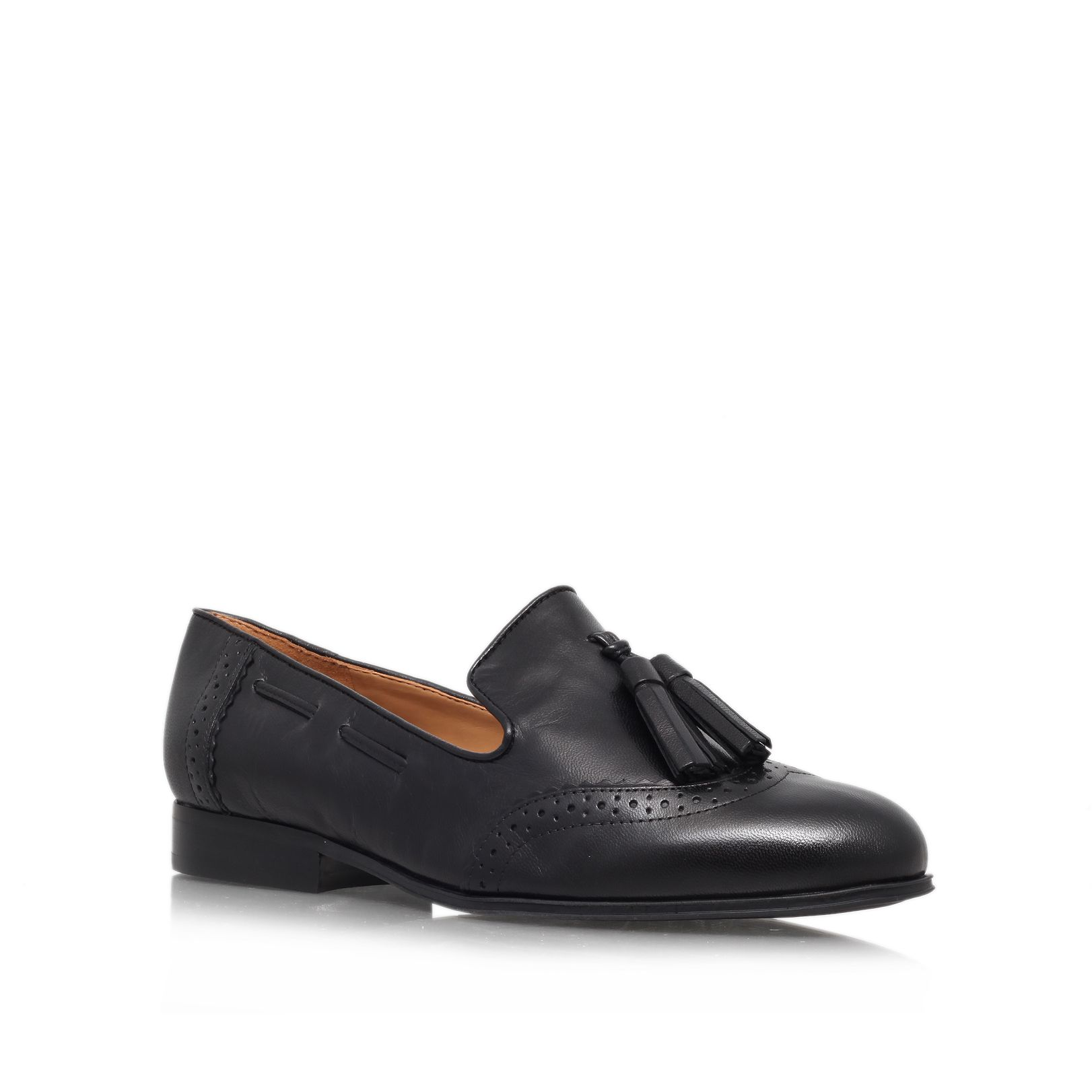 Ariel flat leather loafers
