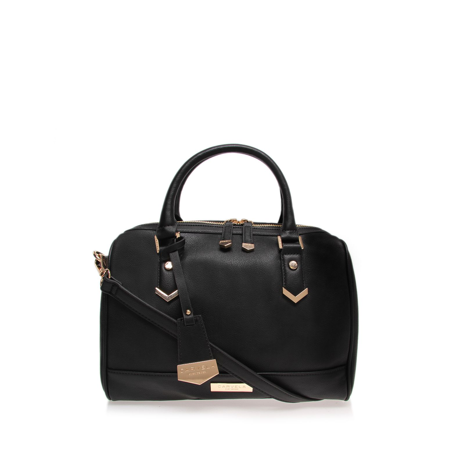 Chelsea bowling black shoulder bag