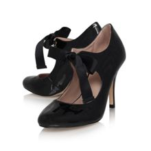 Katrina Ribbon Tie Court Shoe