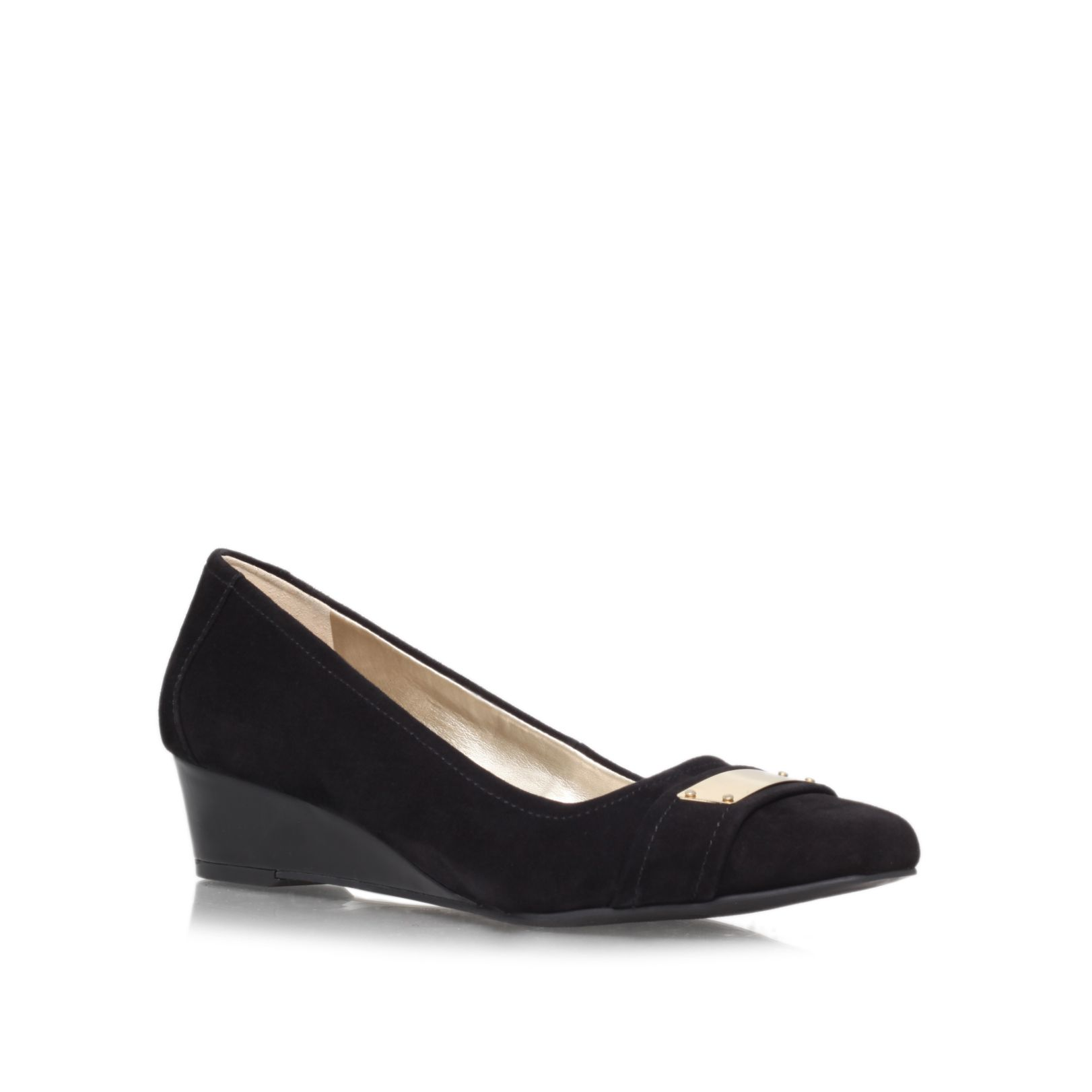 Perrine low wedged slip ons