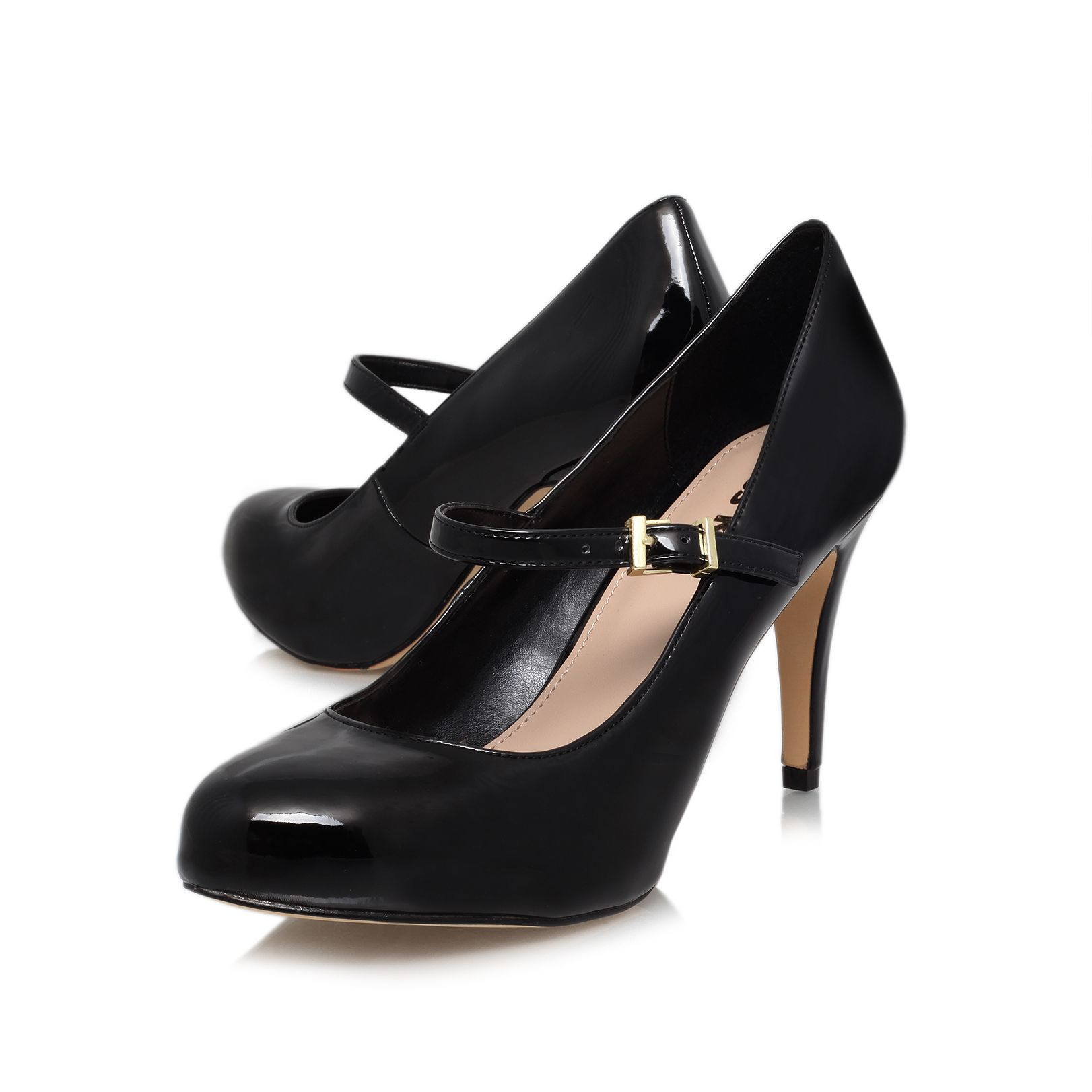 Comet high heeled court shoes