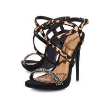 Howl high heeled strappy sandals
