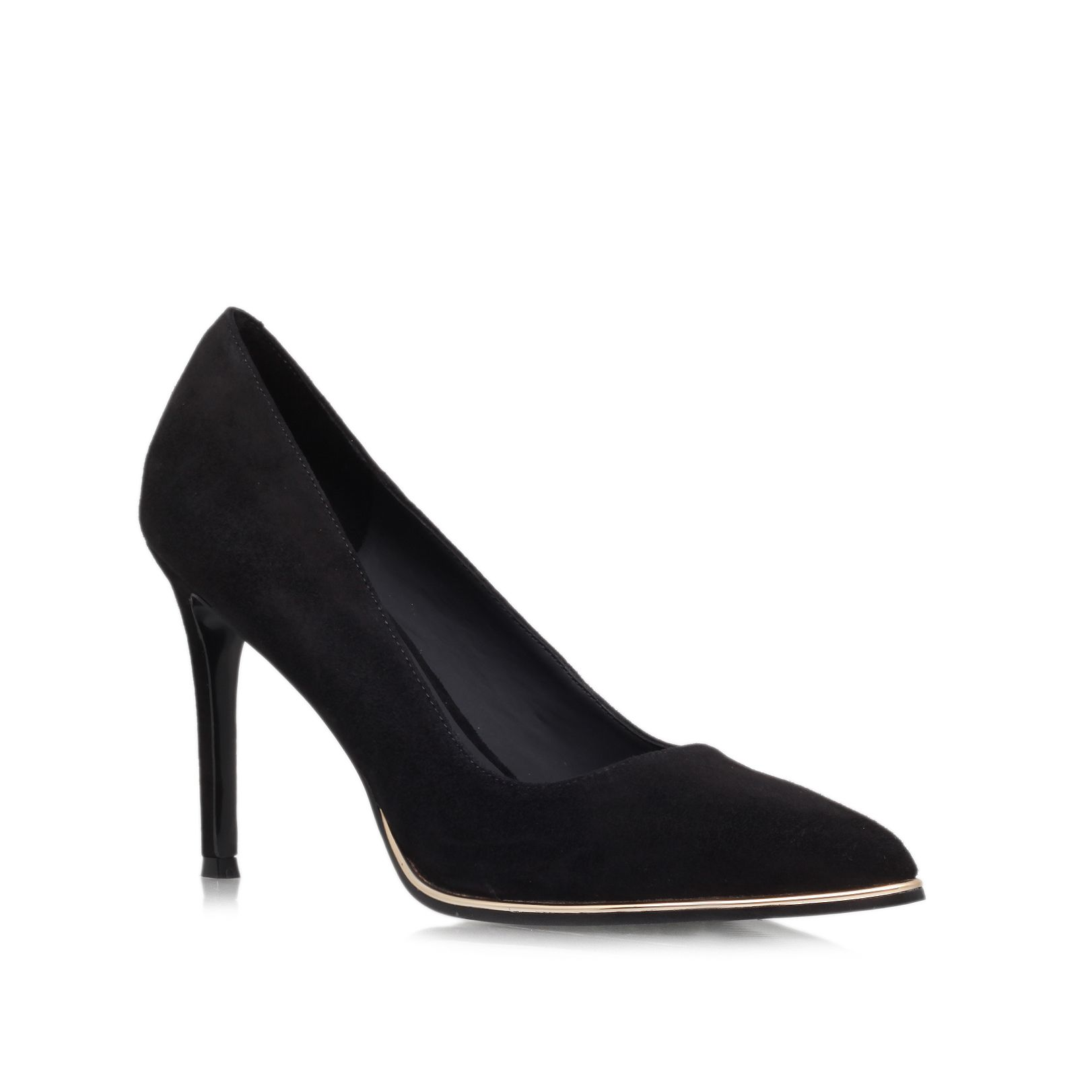 KG Beauty High Heeled Pointed Toe Courts, Black