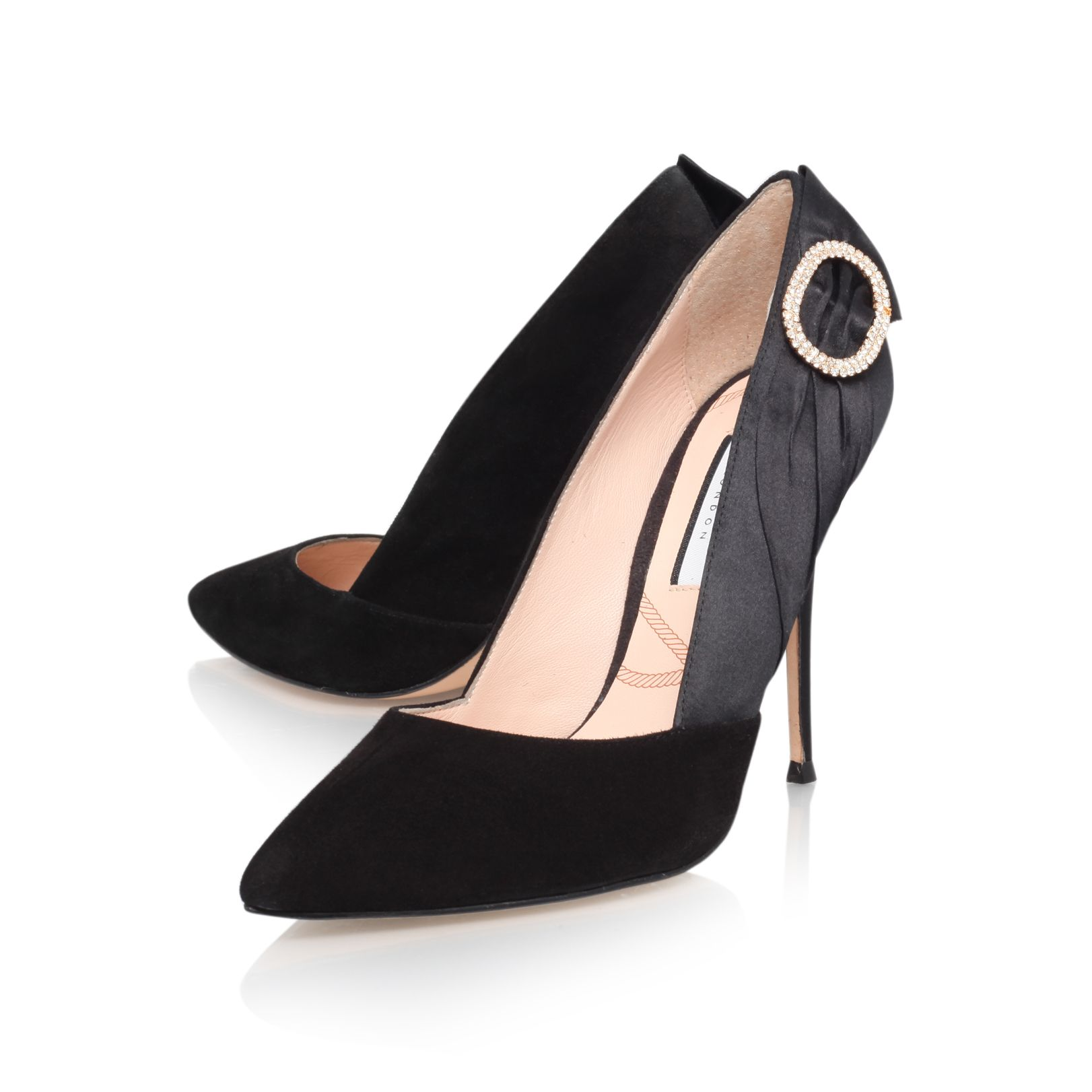 Eloise high heel court shoes