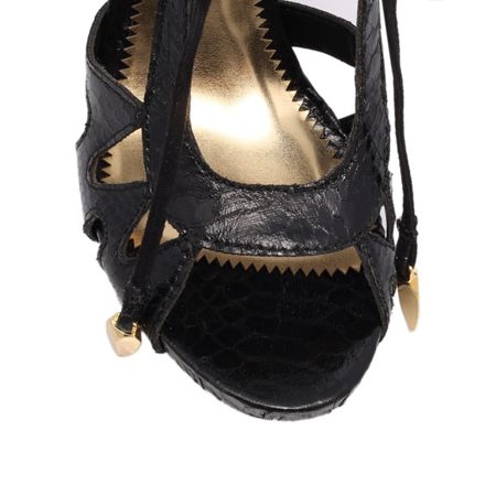 KG Hampson high heel lace up sandals