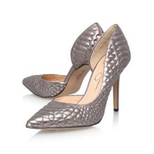 Caldas High Heeled Court Shoe