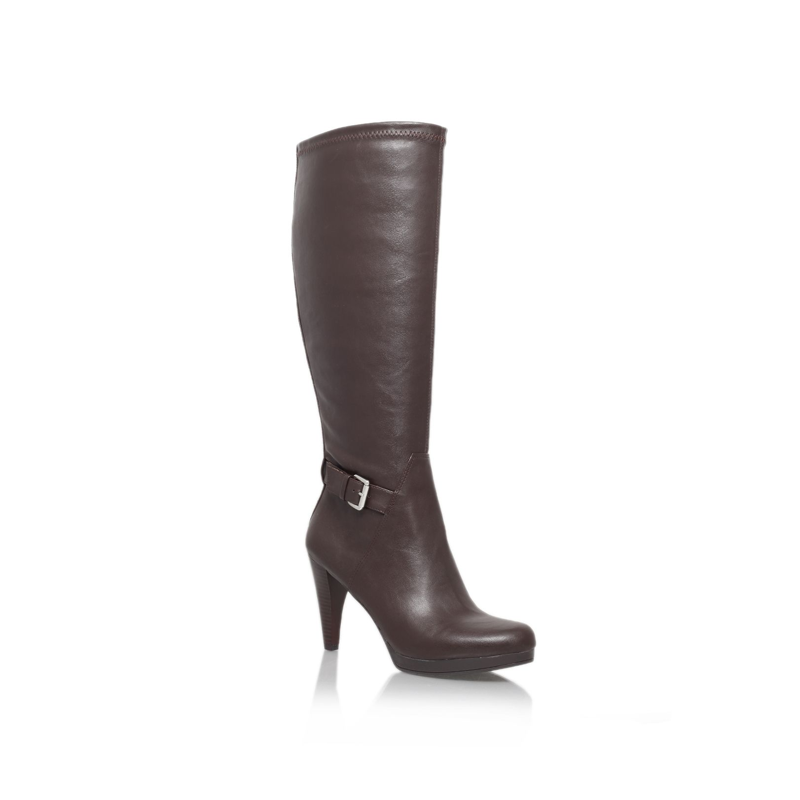 Nativa High Heeled Knee High Boots