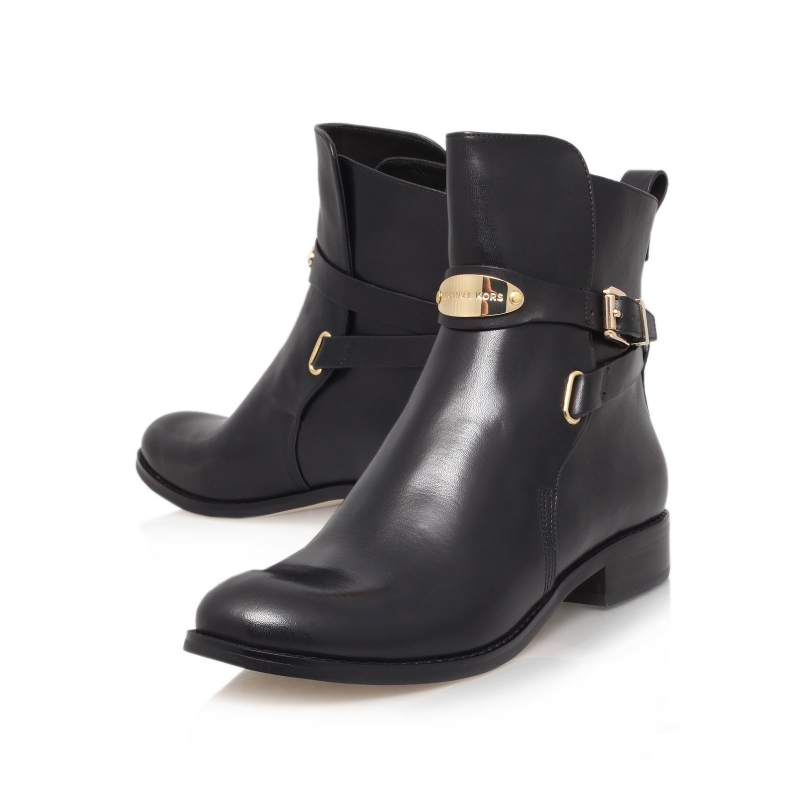 Arley leather ankle boots