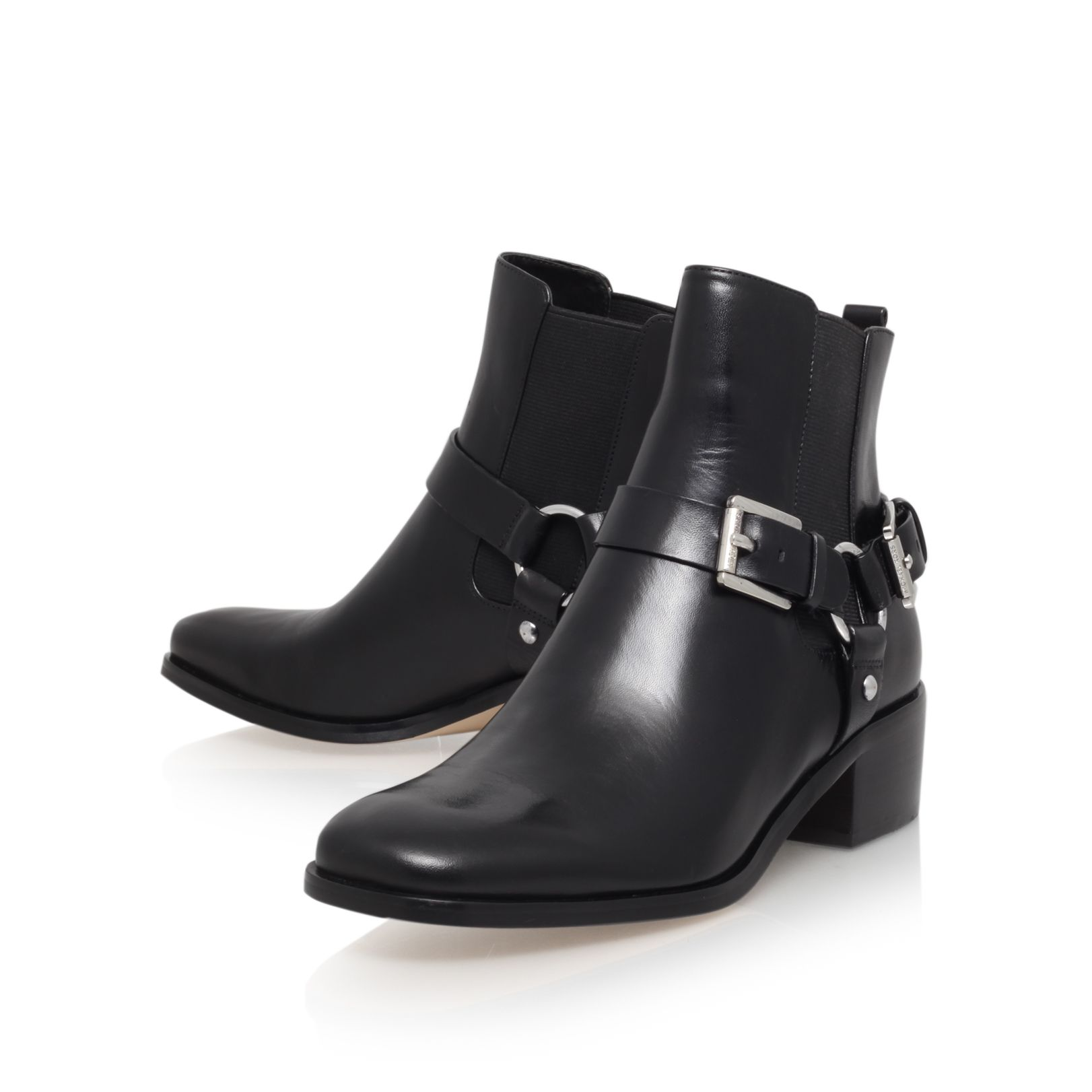 Harrison flat ankle boot