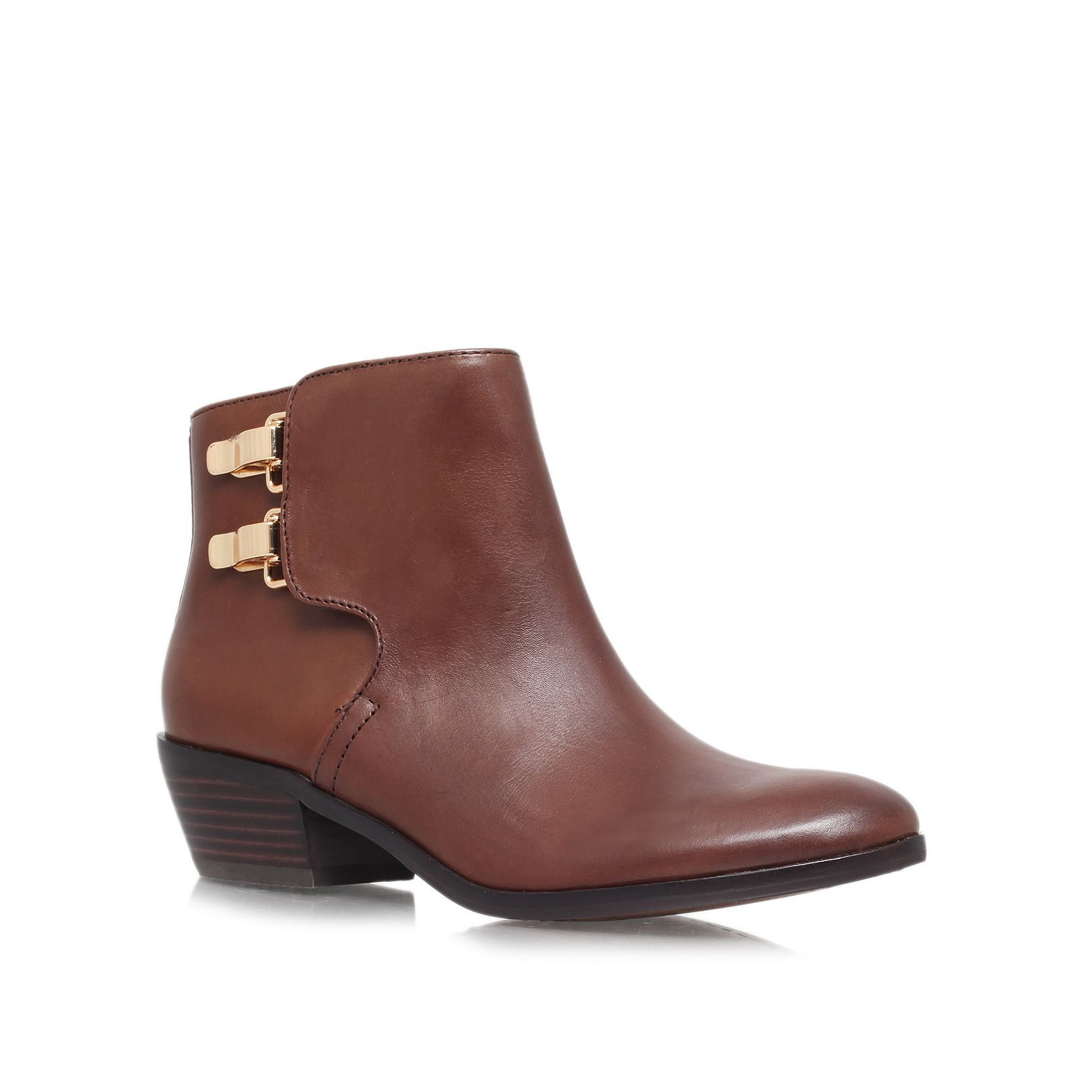 Peter Low Heeled Ankle Boots