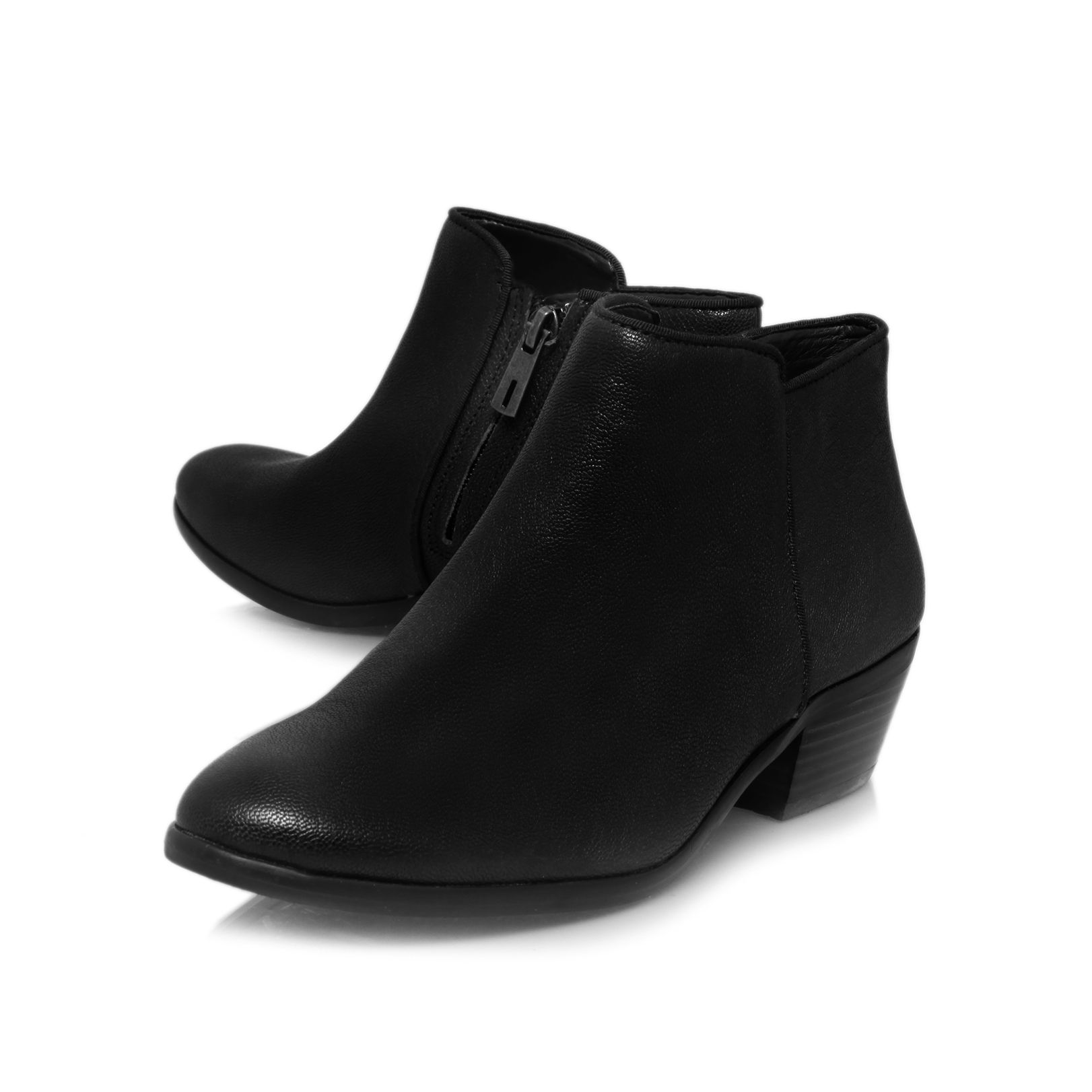 Petty low heeled ankle boots
