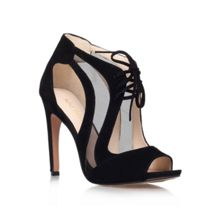 Momentous lace-up heeled shoes