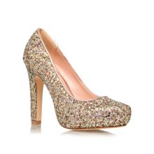 Annie high heel court shoes